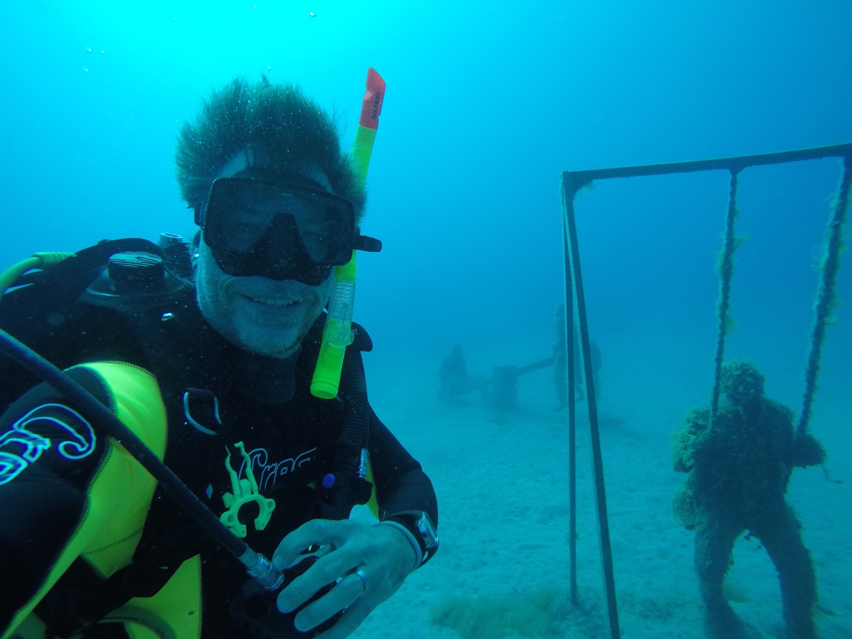 Diving in Museum Atlantic, Rubicon Lanzarote